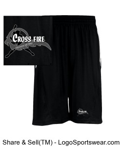 Crossfire Blackout Men's Shorts Design Zoom