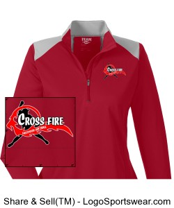 Ladies Crossfire 1/4 pullover Design Zoom