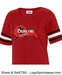 Crossfire Gameday Fan Shirt Design Zoom